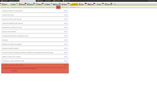 Paramétrage d'un compte Google analytics, fig 1