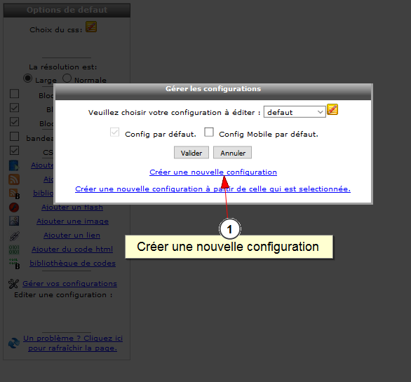 Lien entre Facebook et all-in-web, Fig. 2