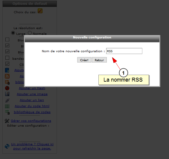 Lien entre Facebook et all-in-web, Fig. 3