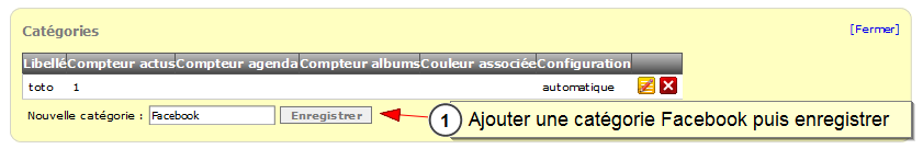 Lien entre Facebook et all-in-web, Fig. 6