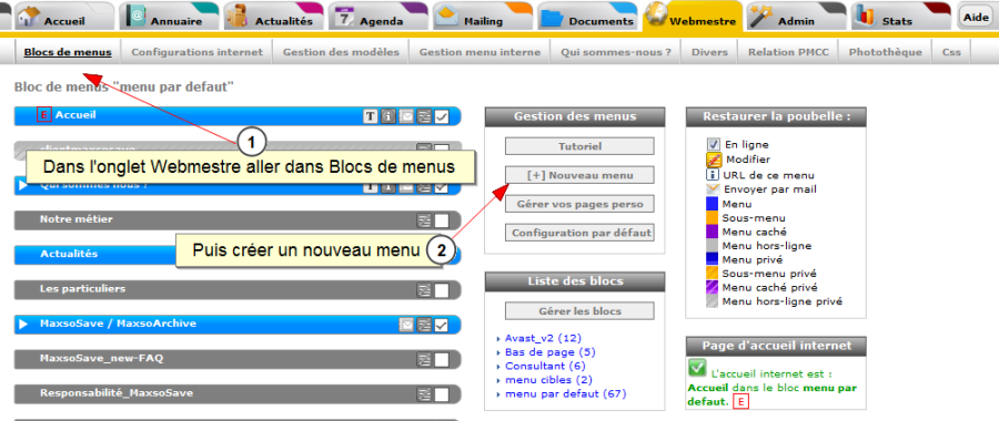 Lien entre Facebook et all-in-web, Fig. 7