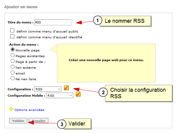 Lien entre Facebook et all-in-web, Fig. 8