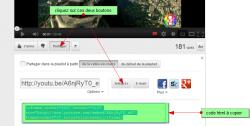 Insérer une vidéo dans ma page internet , fig 2