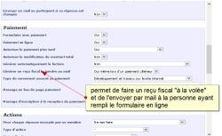 Envoyer automatiquement un reçu fiscal par mail lors d'une réponse à un formulaire en ligne