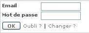 S'identifier à un site all-in-web : login et mot de passse ; pseudo, Fig. 1