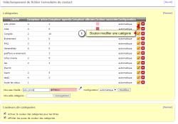 Créer / ajouter des catégories d'actualités ou d'évènements (flux rss)