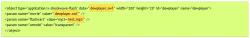 Ajouter du son ou une musique sur une page de votre site, Fig 1