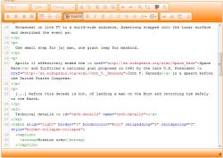Mode source (expert) du nouvel éditeur de page html