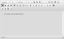 Paramétrer le nouvel éditeur de page html, Fig.1