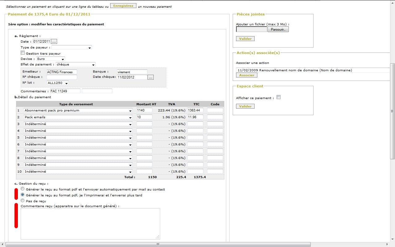 Comprendre la différence entre un reçu et une facture   all in web
