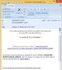 Envoi de mail avec un lien direct sur un formulaire, pré-rempli avec les informations du contact, Fig. 3 mail reçu